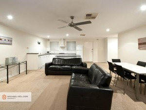 A 2 bedroom apartment less than 200 metres from the Victoria Park Cafe Strip.