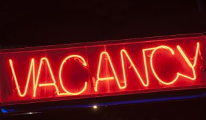 What is a vacancy rate?